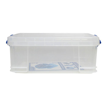 17-Liter Storage Box with Latching Lid